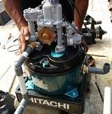 Layanan service pompa air kecil